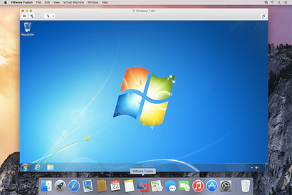 VMware delivers ultimate Windows on Mac experience with VMware Fusion 7 and VMware Fusion 7 Pro