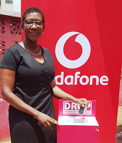 Vodafone Ghana launches a campaign to recycle obsolete phones