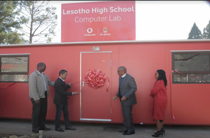 Vodacom Lesotho builds on Schools Connectivity Programme