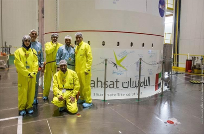 Yahsat's Al Yah 3 satellite readies for lift-off