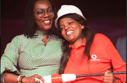 Communication Minister eulogizes out-going CEO of Vodafone Ghana