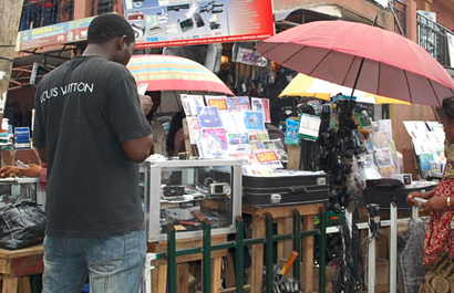 Street vendors in Lagos